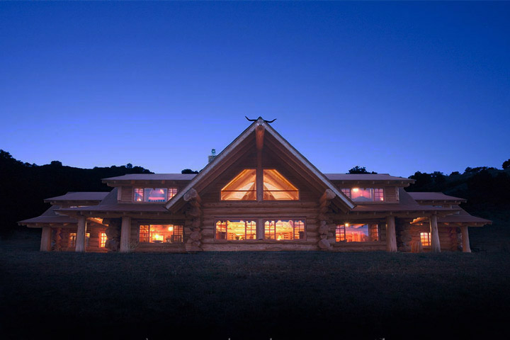 California Dreaming Luxury Log Home