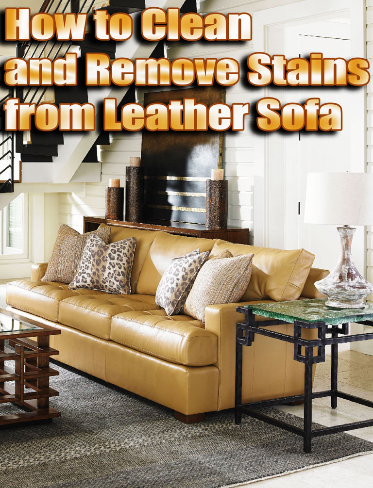 Quiet Corner How To Clean And Remove Stains From Leather