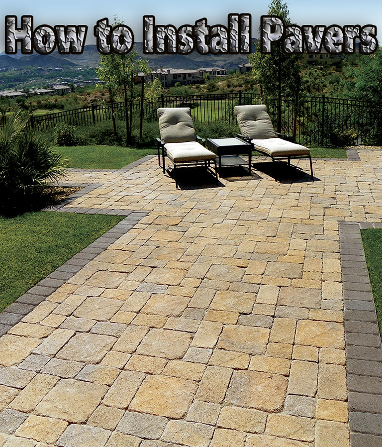Quiet Corner How To Install Pavers