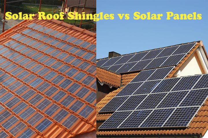 Solar Roof Shingles vs Solar Panels