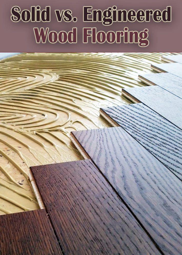 Solid vs. Engineered Wood Flooring