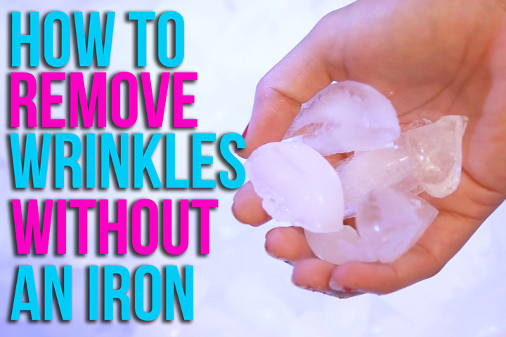Remove Wrinkles from Clothes Without an Iron
