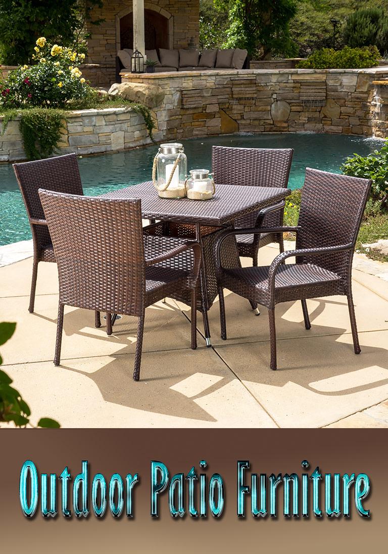 Outdoor Patio Furniture Typeaterials