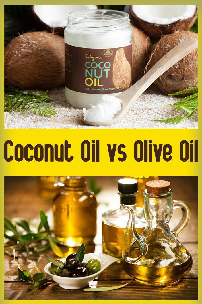 Coconut Oil vs Olive Oil