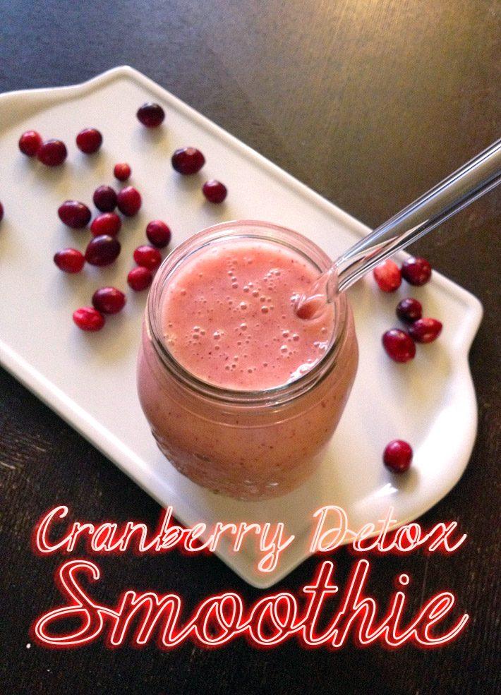 Cranberry Detox Smoothie Recipe