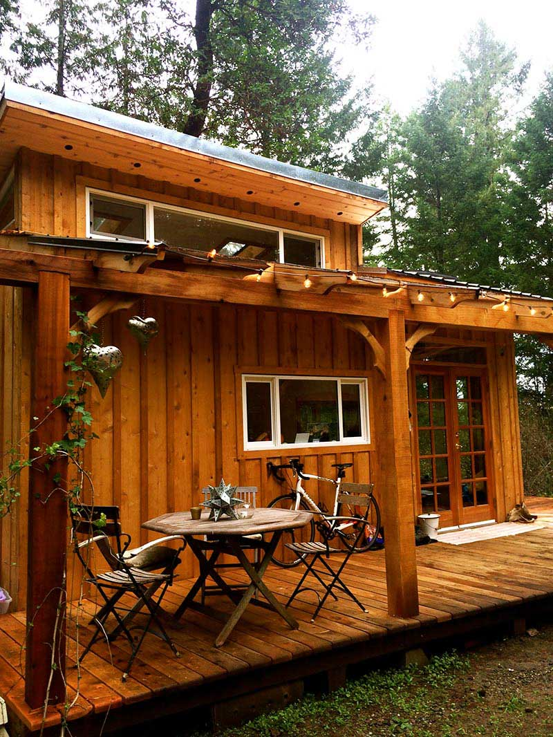 Keva Tiny House A Smallish Living on Salt Spring Island