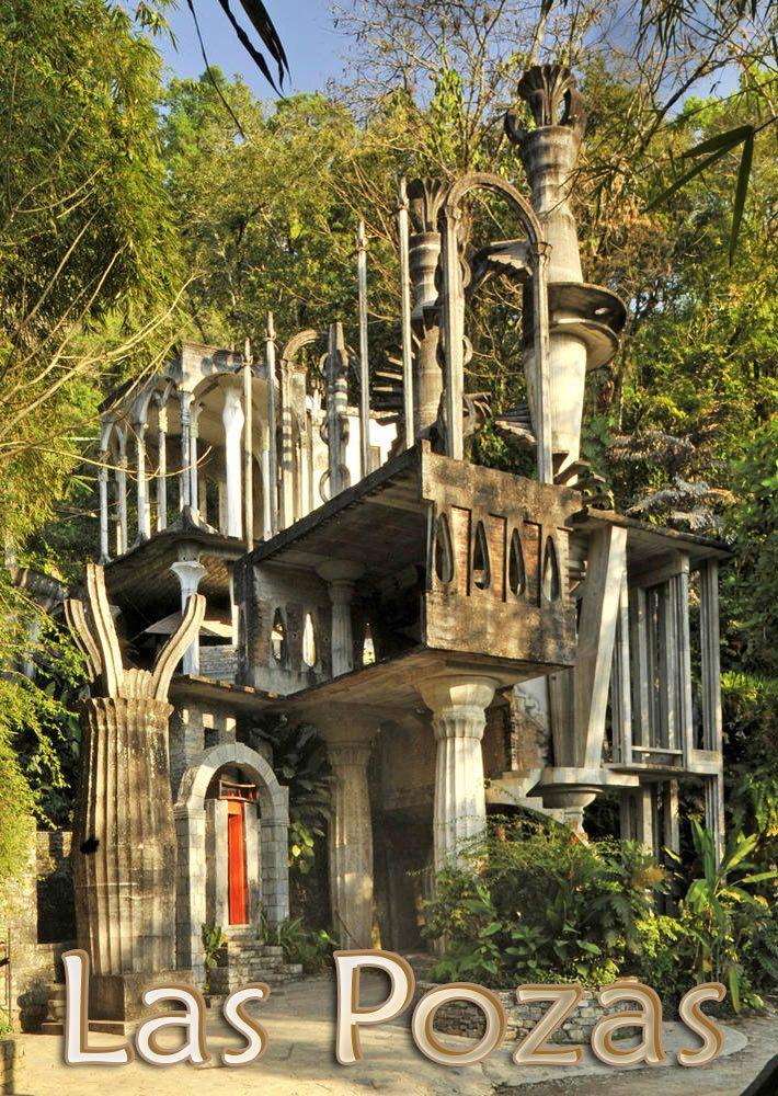 Las Pozas – Surrealist Garden in a Mexican Jungle