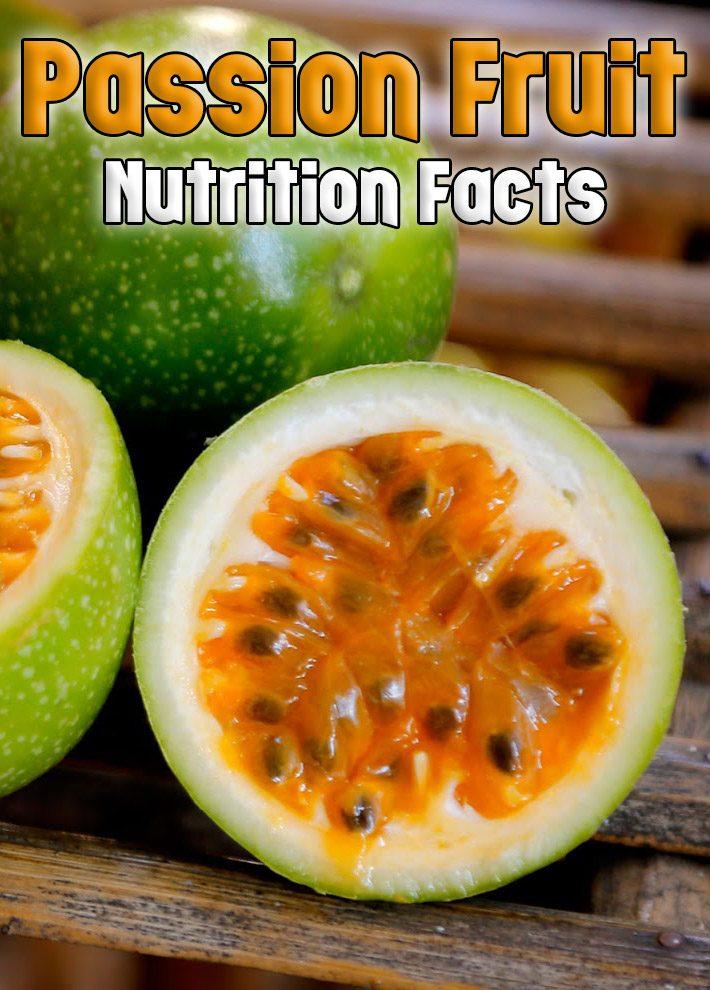 Granadilla – Passion Fruit: Nutrition Facts
