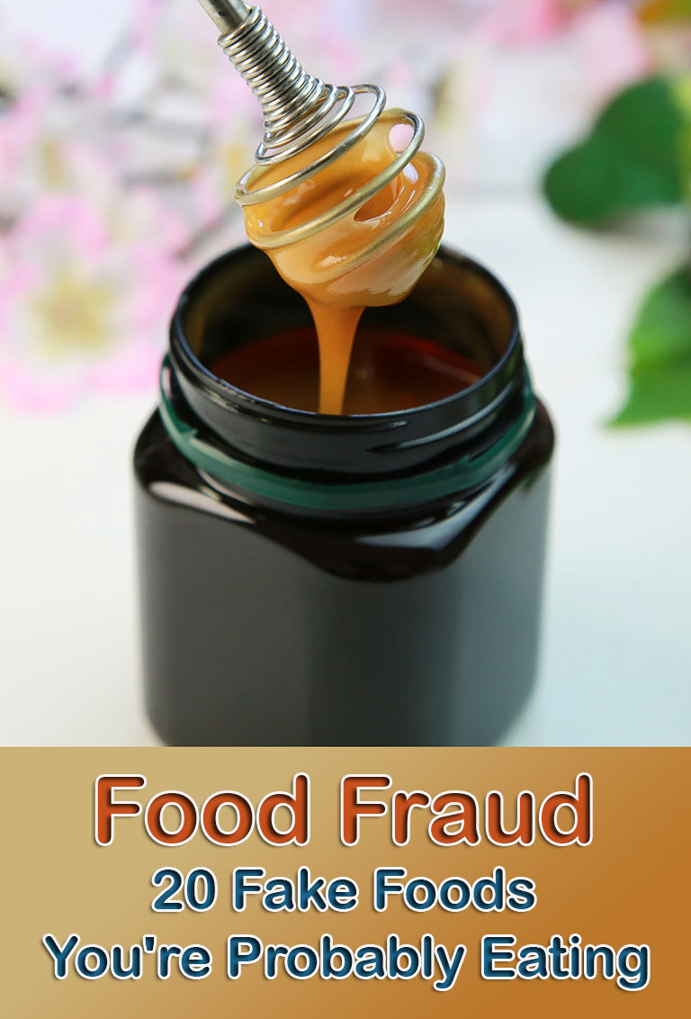Food Fraud  – 20 Fake Foods You're Probably Eating