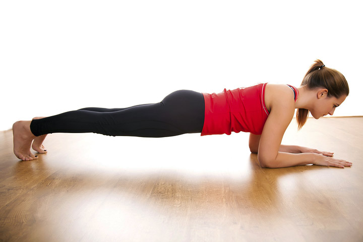 Strengthen Your Core With Planks
