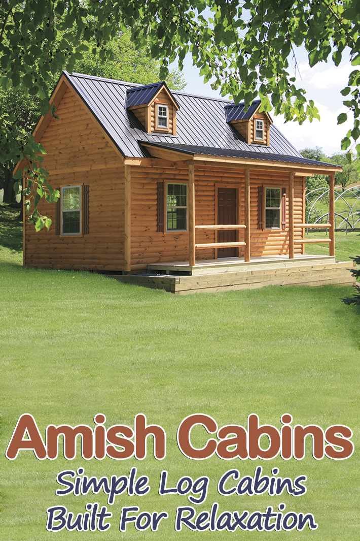 Amish Cabins - Simple Log Cabins Built For Relaxation - Quiet Corner