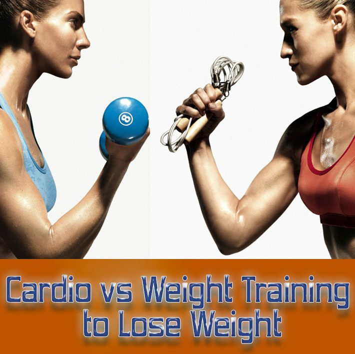 Cardio Versus Weight Training to Lose Weight
