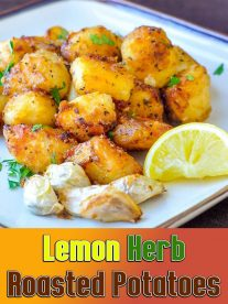 Lemon Herb Roasted Potatoes