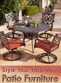 Style Your Yard With Patio Furniture