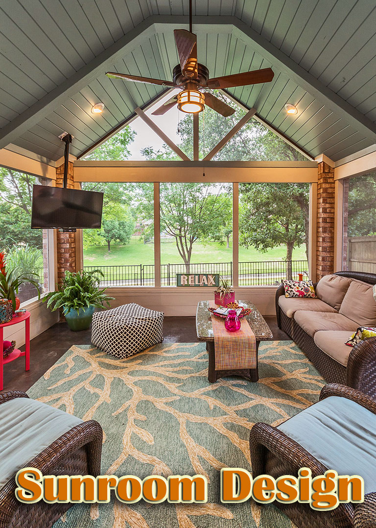 Lovely Sunroom Design and Decor Ideas
