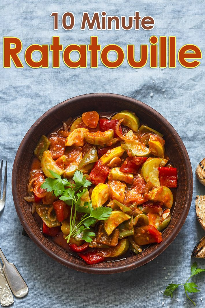 10 Minute Ratatouille Recipe