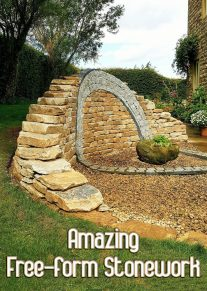 Amazing Free-form Stonework Breaks the Mold
