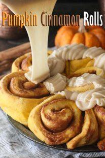 Easy Pumpkin Cinnamon Rolls Recipe
