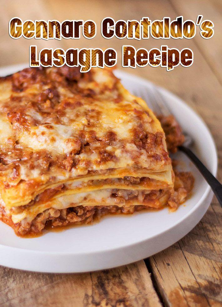 Gennaro Contaldo's Lasagne Recipe