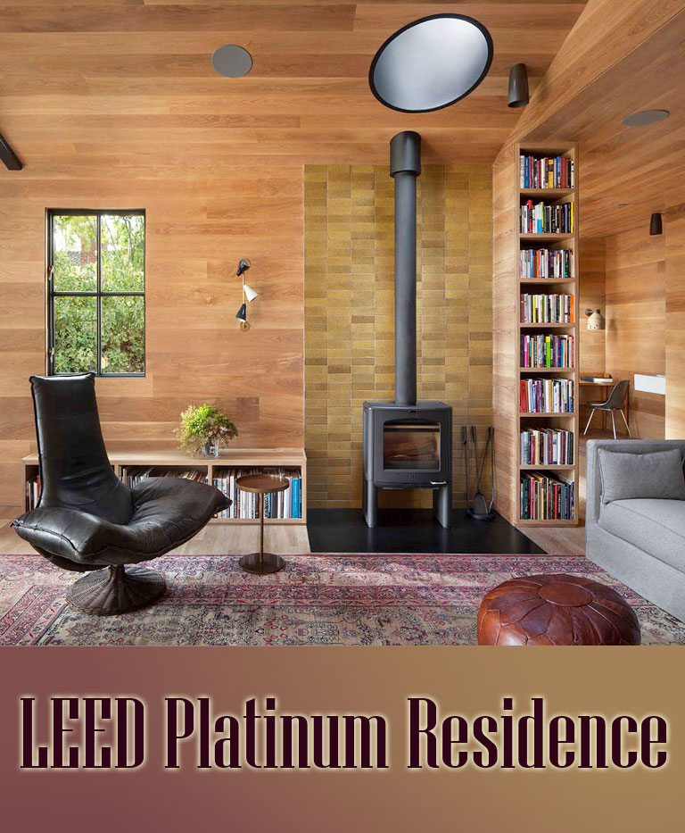 Quiet corner leed platinum residence whole home remodel for Platinum home designs llanelli