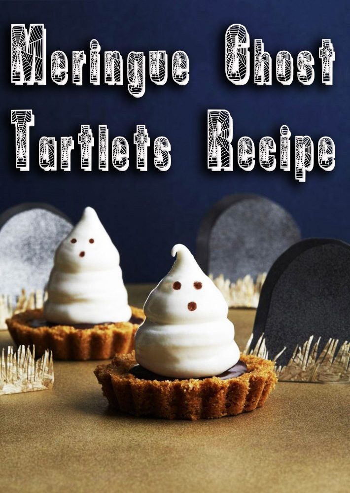 Meringue Ghost Tartlets Recipe