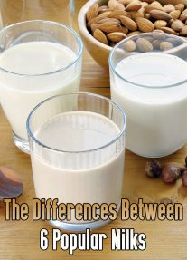 The Differences Between 6 Popular Milks