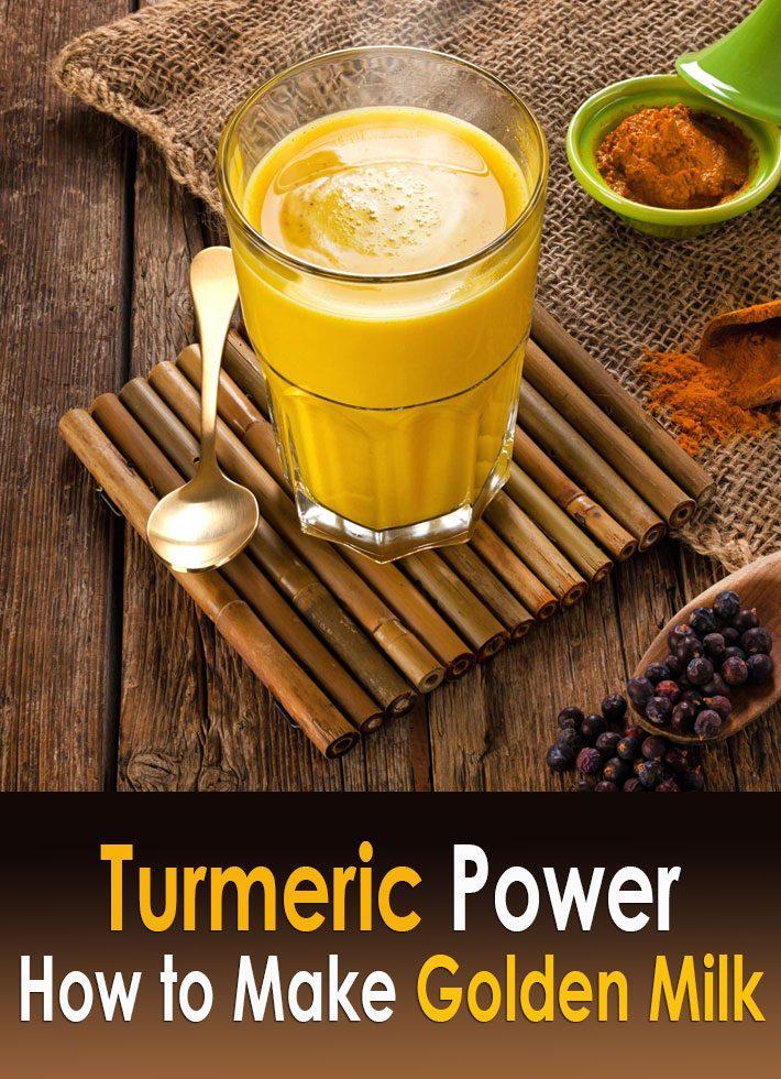 Turmeric Power – How to Make Golden Milk