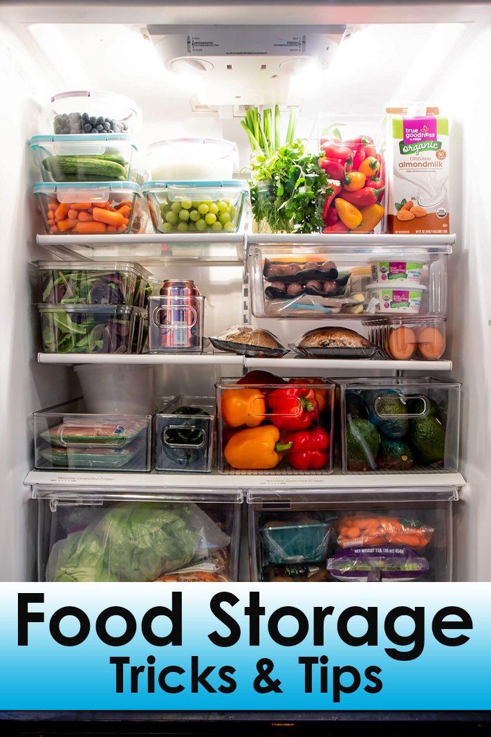 Food Storage Tricks & Tips You Should Know