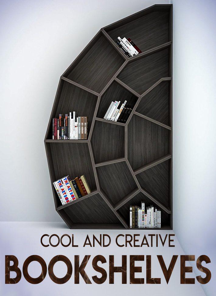 Interior Design – Cool and Creative Bookshelves