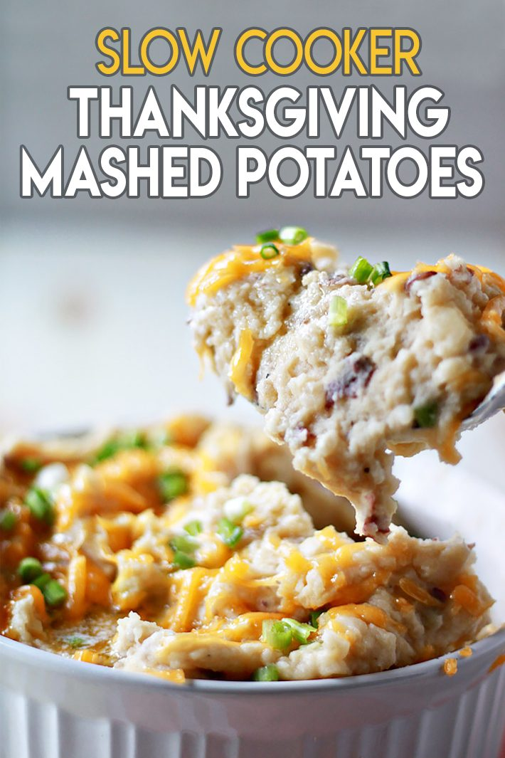 Slow Cooker Thanksgiving Mashed Potatoes