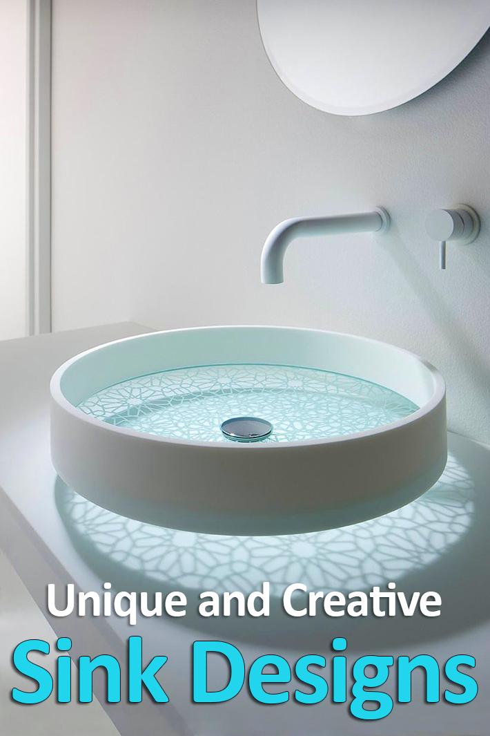 Unique and Creative Sink Designs