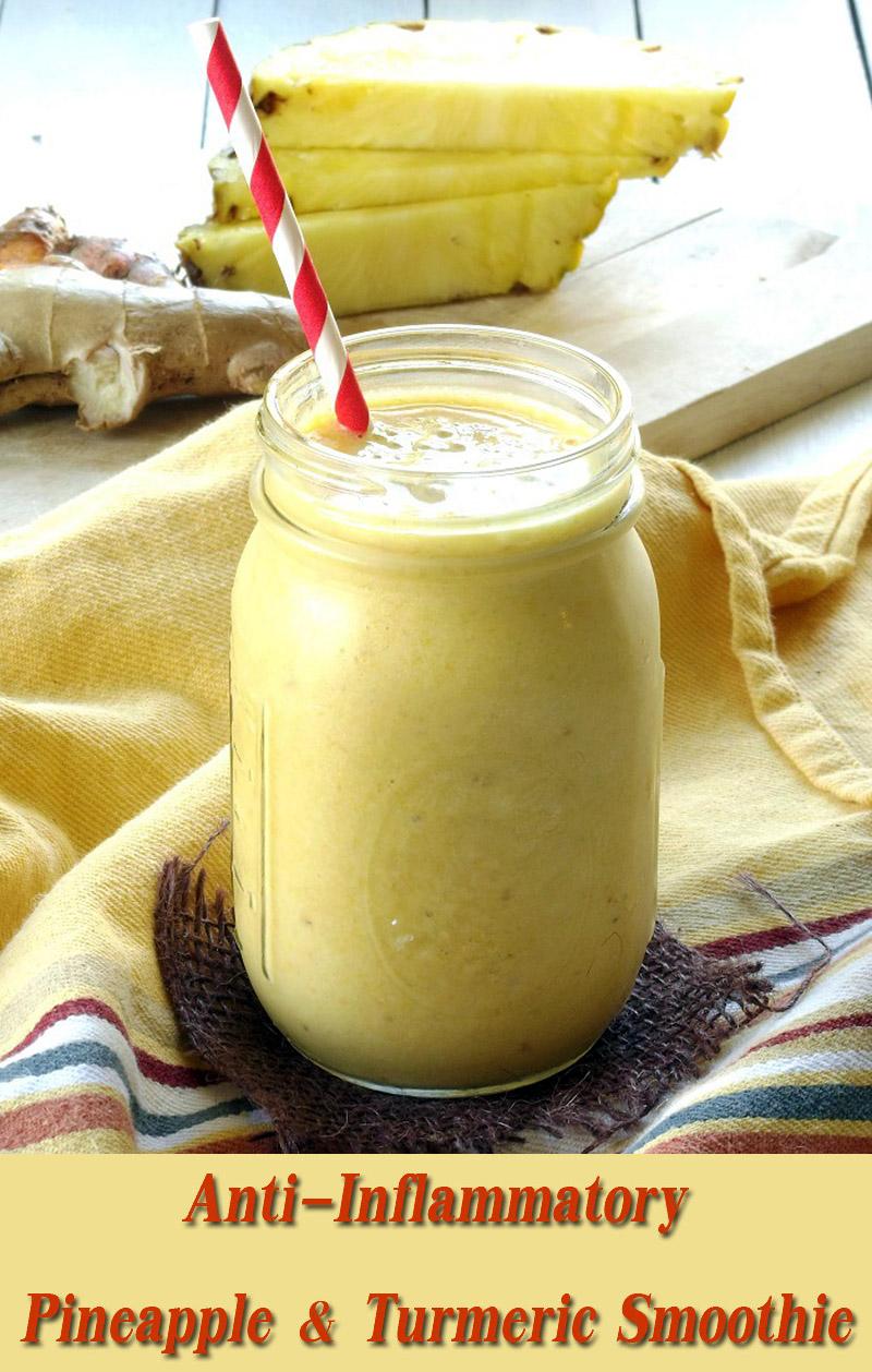 Anti-Inflammatory Pineapple & Turmeric Smoothie