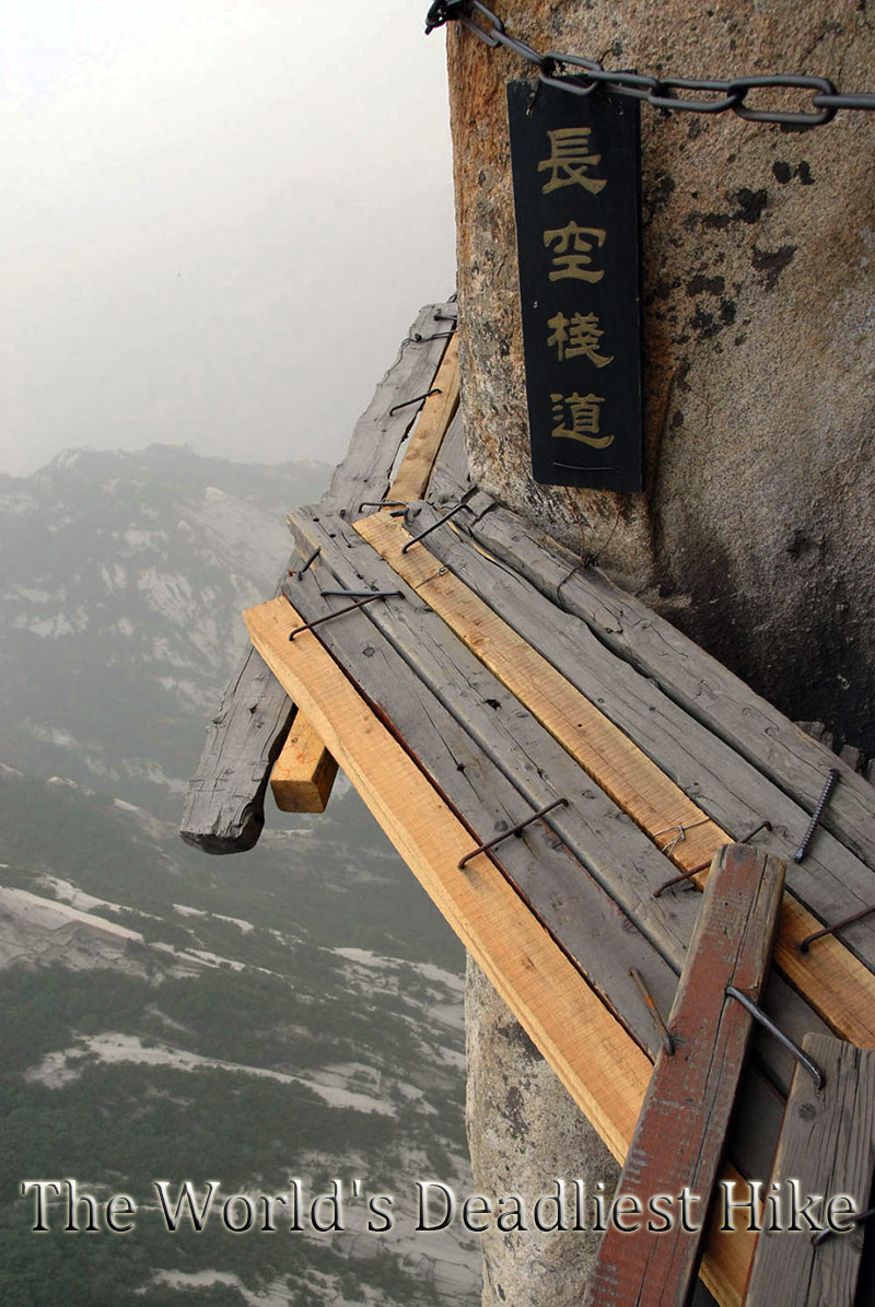 The World's Deadliest Hike – Mountain Huashan