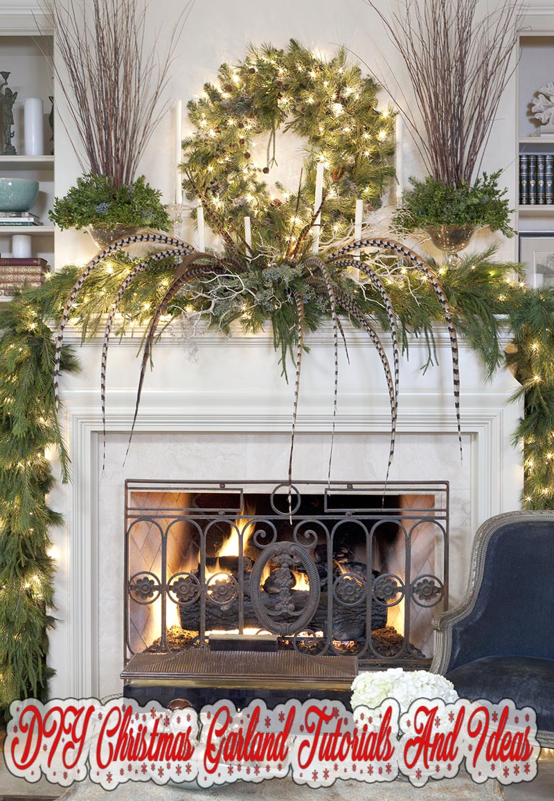 Quiet Corner Diy Christmas Garland Tutorials And Ideas