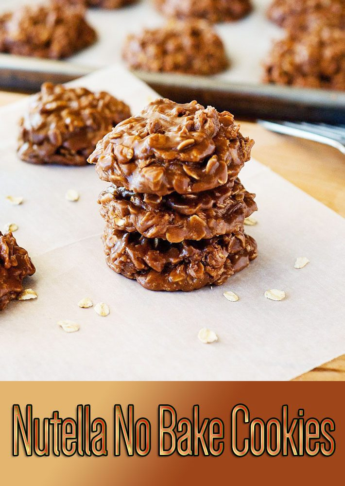 Easy Recipes – Nutella No Bake Cookies