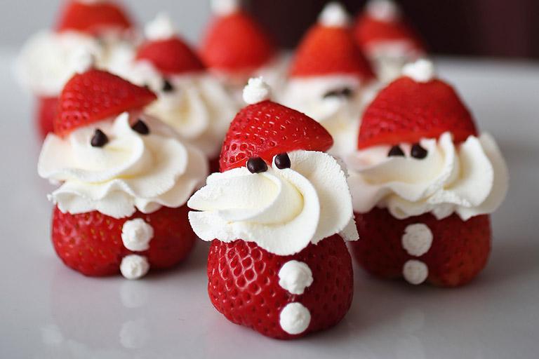 Strawberry Santa Claus Recipe Quiet Corner