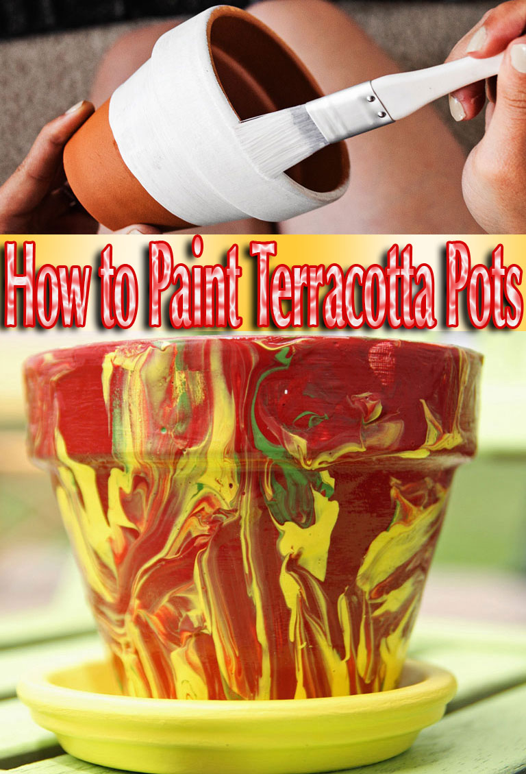 How to Paint Terracotta Pots. Terracotta pots and saucers offer the perfect blank canvas to create beautiful, unique works of art and add color and class to any outdoor space... #diy #gardening