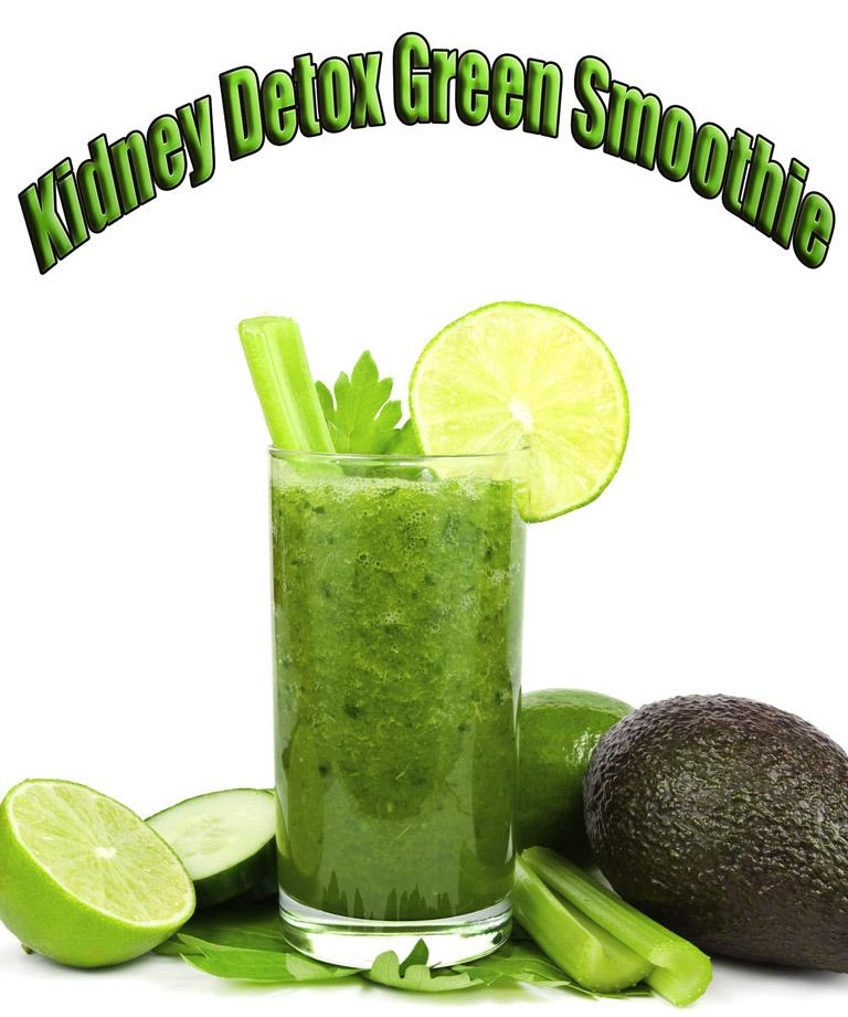 Kidney Detox Green Smoothie
