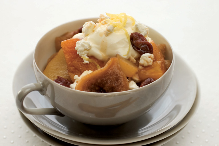 Spiced Winter Fruit Compote Recipe - Quiet Corner