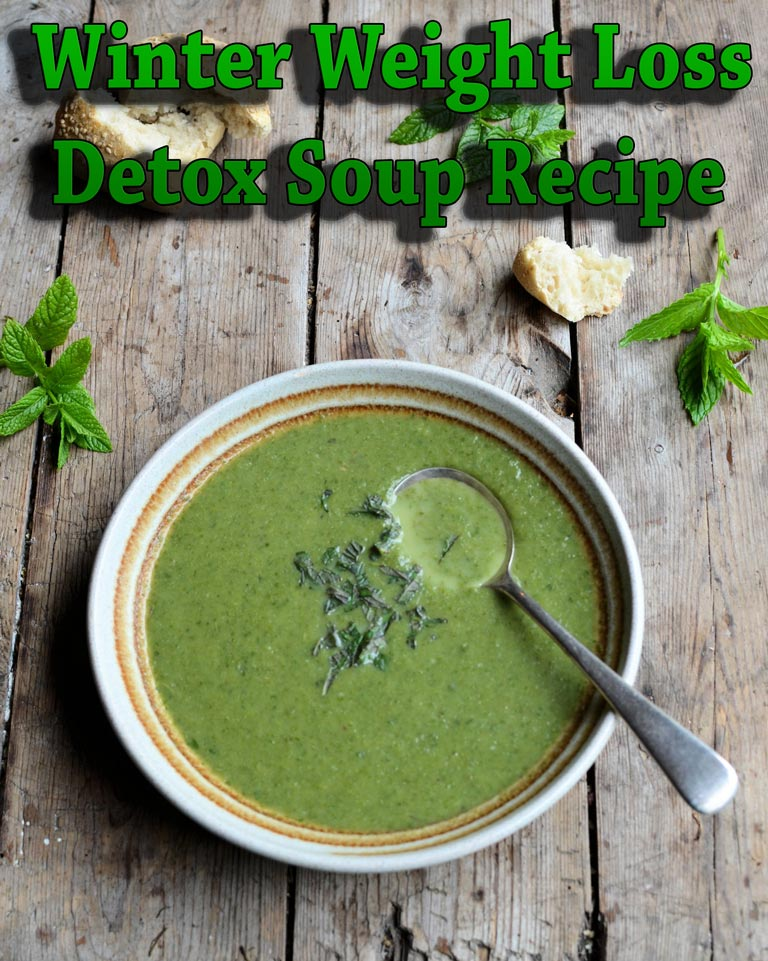 Winter Weight Loss Detox Soup Recipe