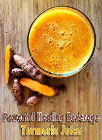 A Powerful Healing Beverage Turmeric Juice 2
