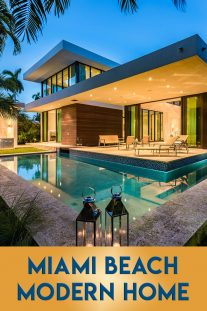 Miami Beach Modern Home