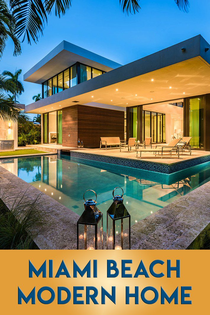 2300 Sunset Drive Miami Beach Modern Home