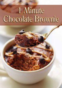 1 Minute Chocolate Brownie