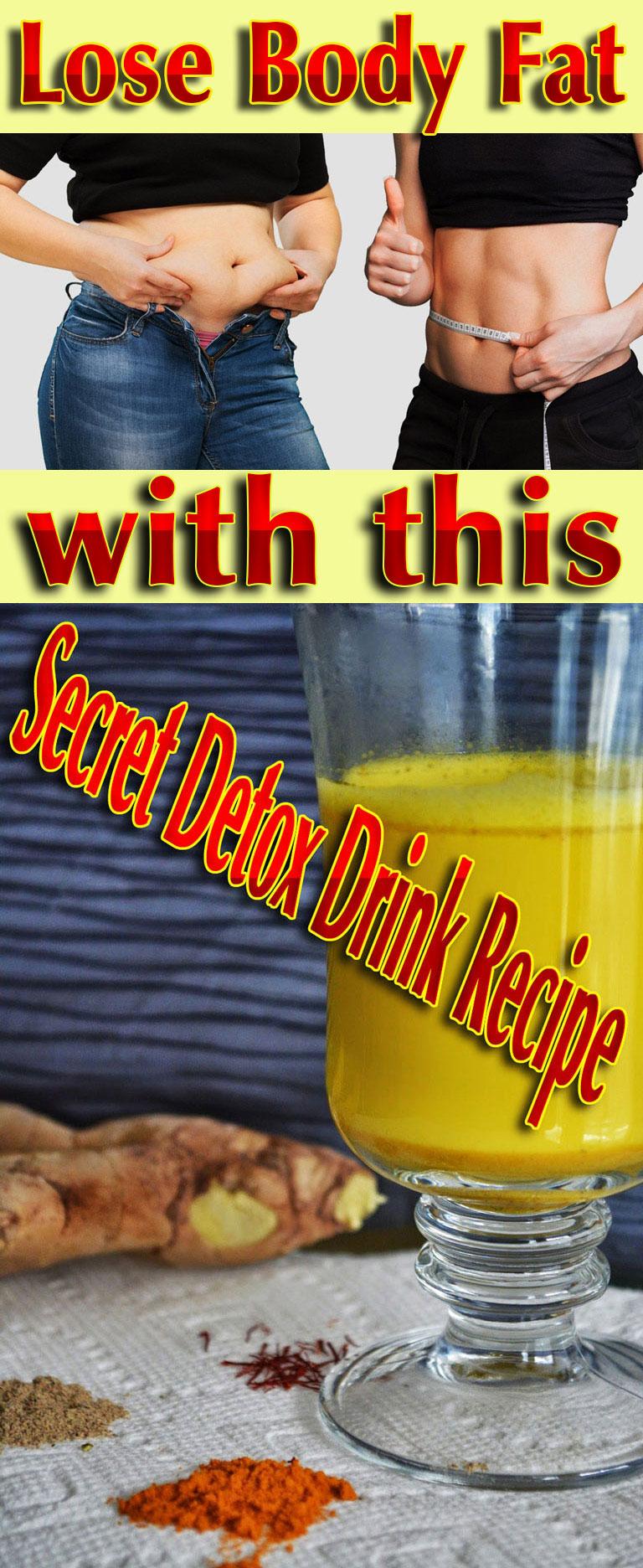 Secret Detox Drink Recipe