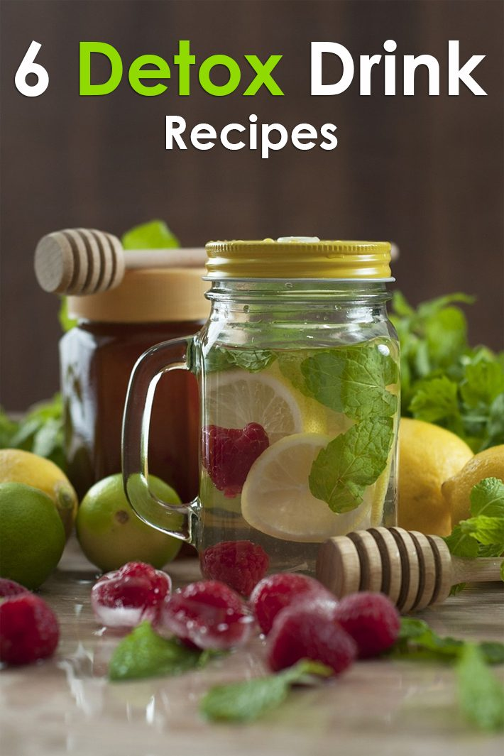 6 Detox Drink Recipes