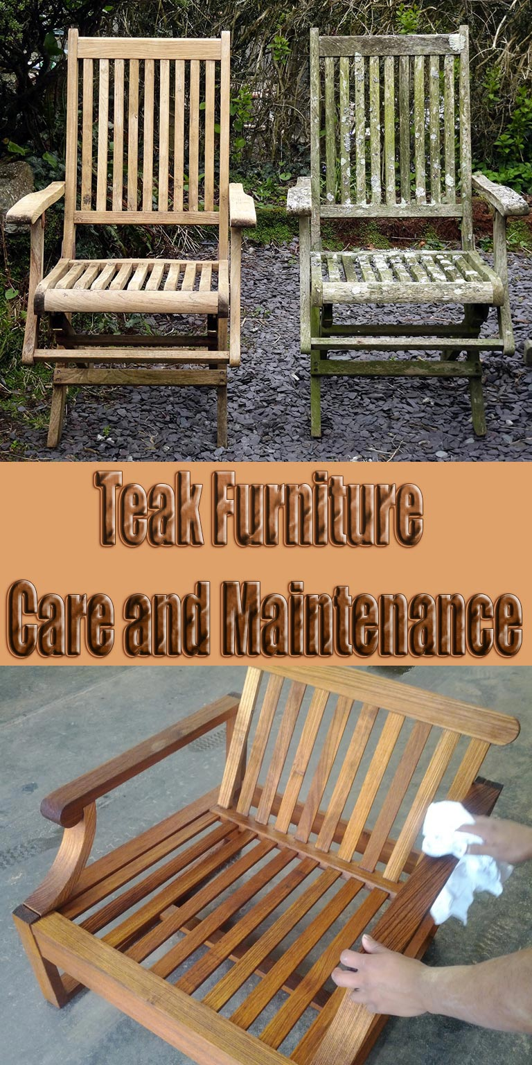 Teak Furniture Care and Maintenance