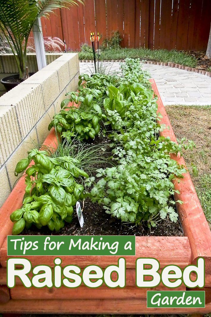 Quiet Corner Tips For Making A Raised Bed Garden Quiet Corner