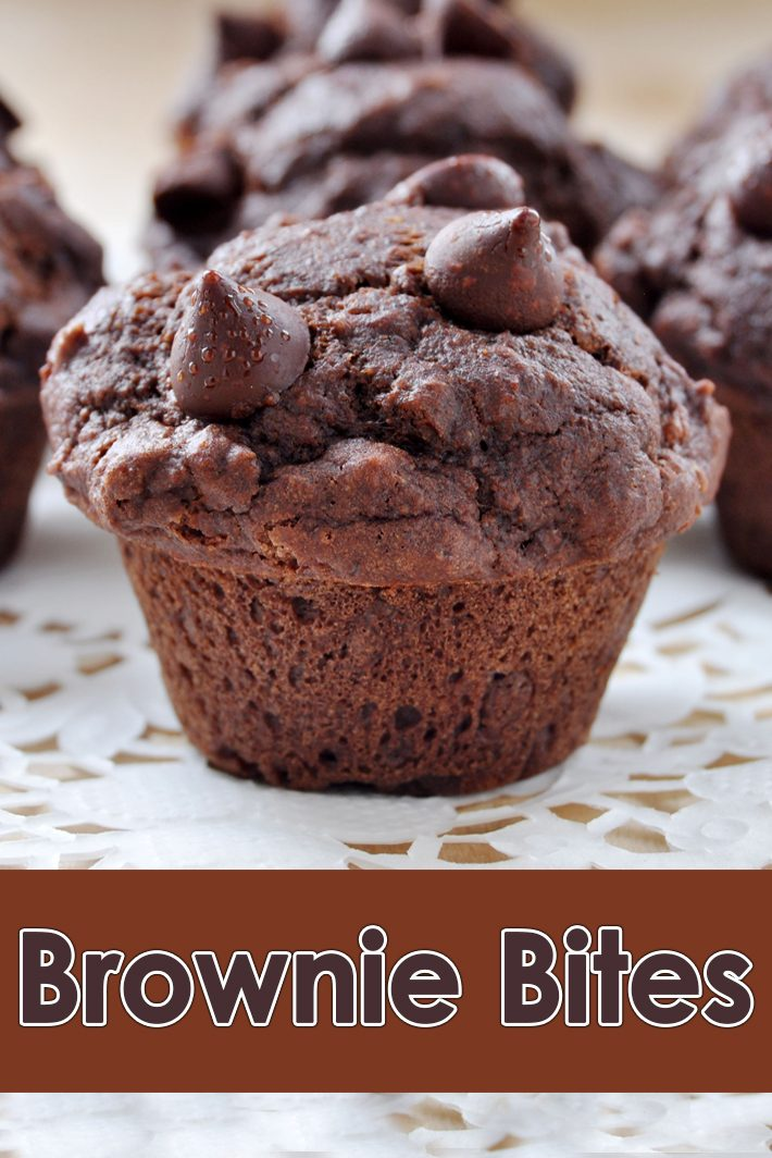Brownie Bites Recipe
