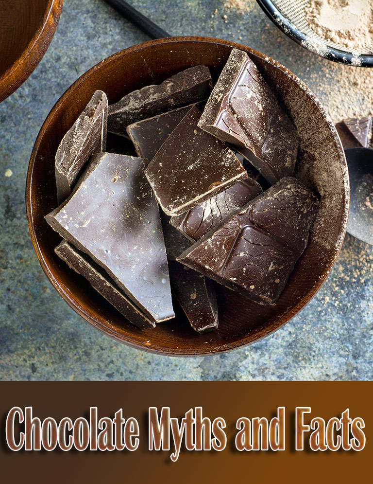Top 11 Chocolate Myths and Facts